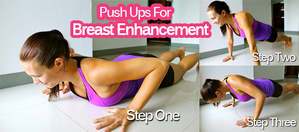 Push up exercise to increase breast in hindi