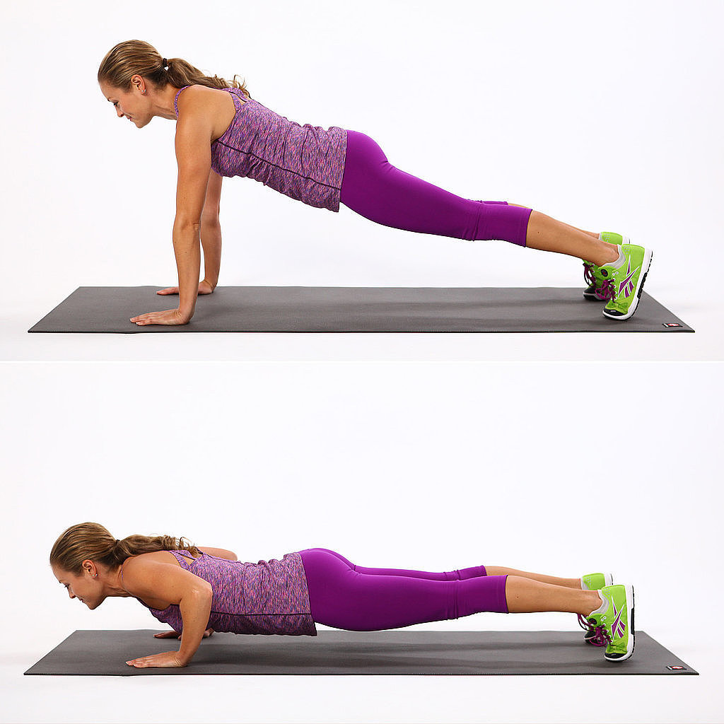 push up exercise yoga breast increase