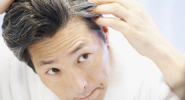 सफेद बाल का इलाज
