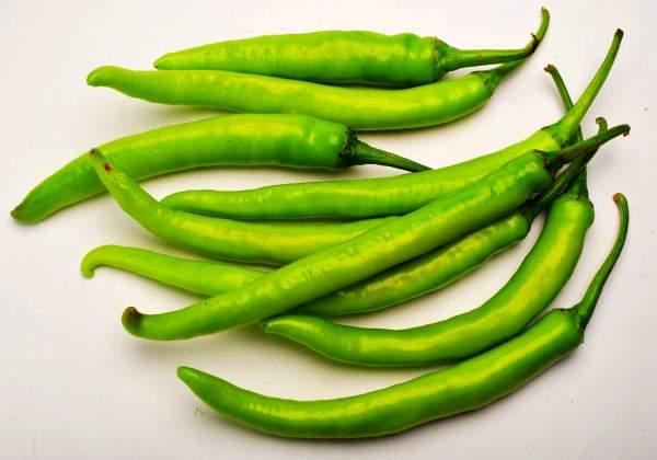 हरी मिर्च के फायदे