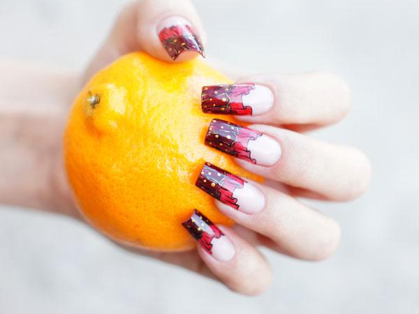 नाखूनों को बढ़ाने के लिए संतरे का रस