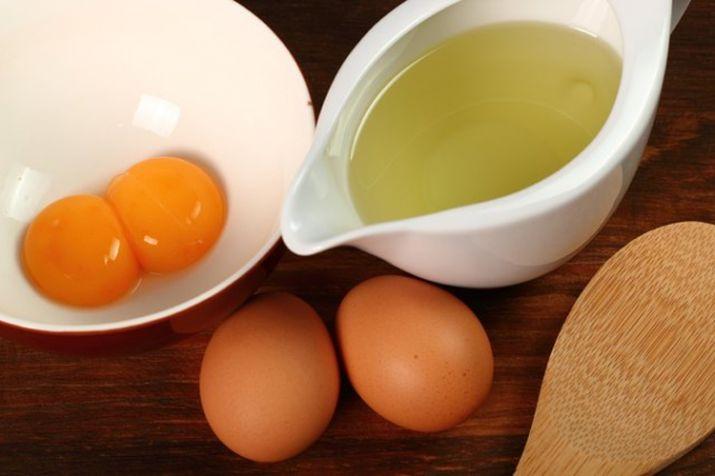 अंडा और नारियल तेल का मिश्रण